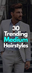 Medium Hairstyles For Men 2019