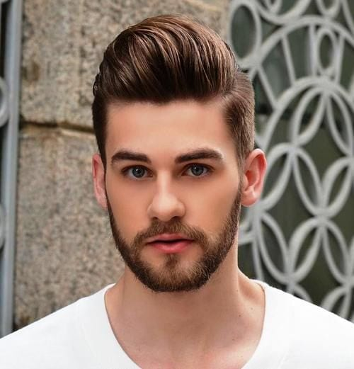 Men-with-medium-Quiff-hairstyle