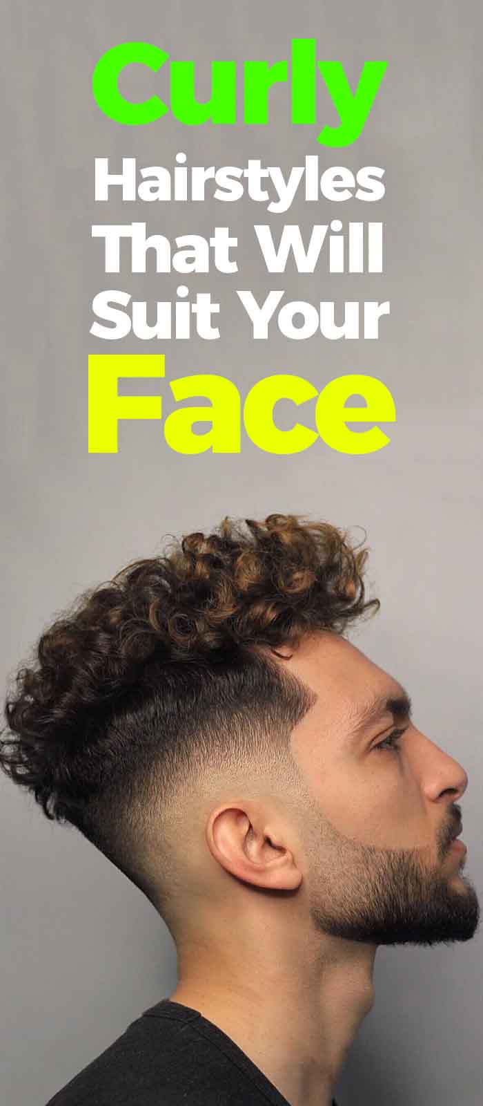Curly Hairstyle For Men 2019