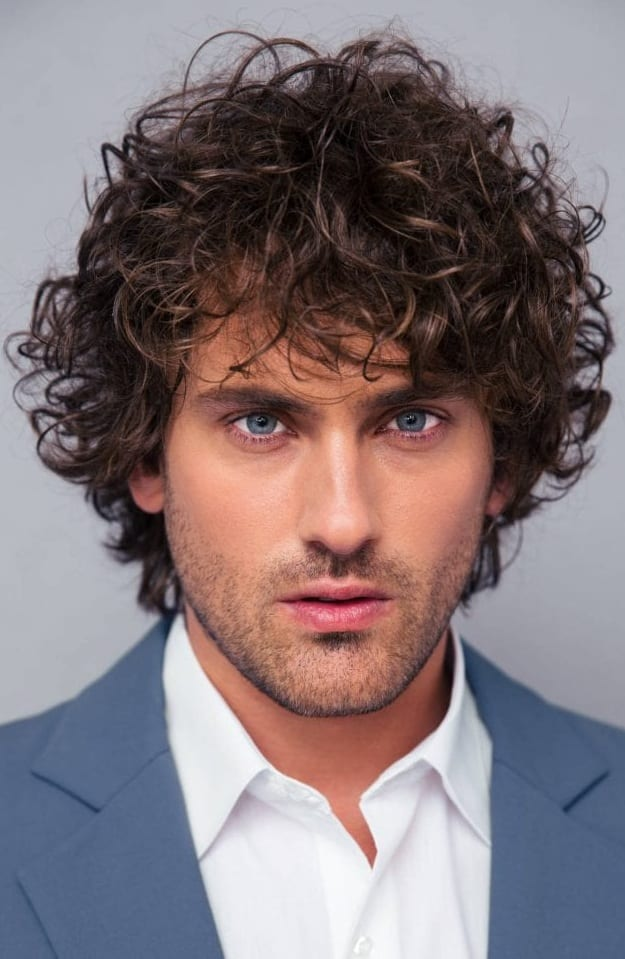 Curly Hairstyles For Men In 2019
