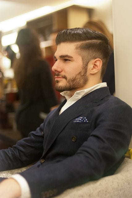 Short-hair-Beard-Undercut-hairstyle-trend