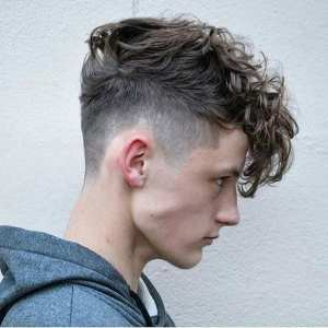 undercut and messy