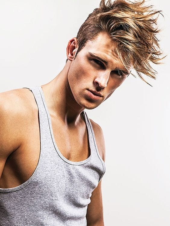 men-with-medium-length-messy-hairstyles