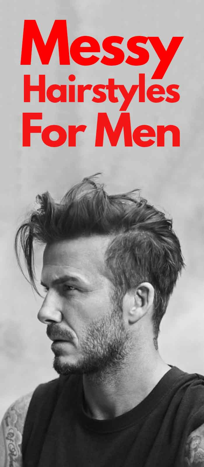 Messy Hairstyles For Men 2019!