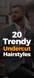 Trendy Undercut Haircut For Men