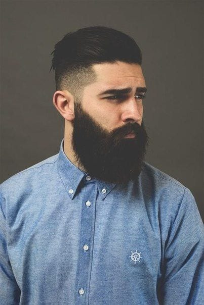 Undercut Hairstyles To Compliment Your Beard On Pinterest Right Now
