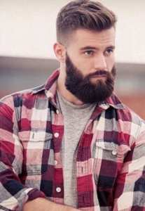short-undercut-hairstyle-with-long-beard