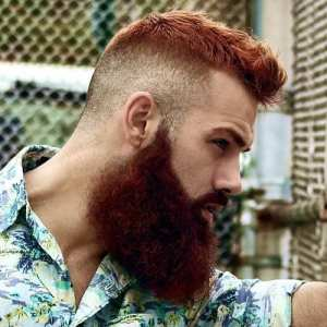 undercut-hairstyle-with-red-beard