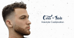 Curls And Fade Haircut Combo