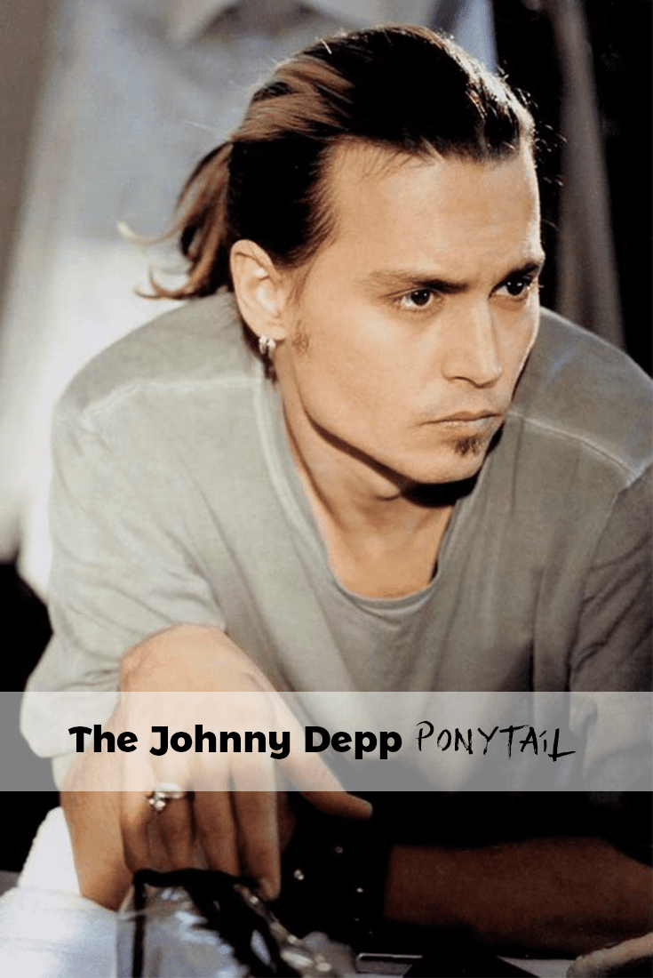 best ponytail hairstyle by johnny deep