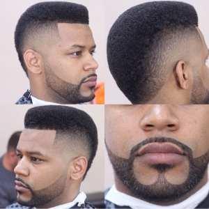fade with anchor beard