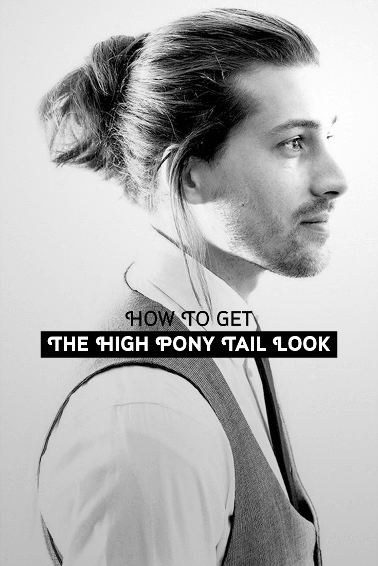 mens High Ponytail fashion