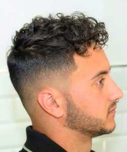 Romantic Looks Men With Curly Hair Can Try To Impress His Date.
