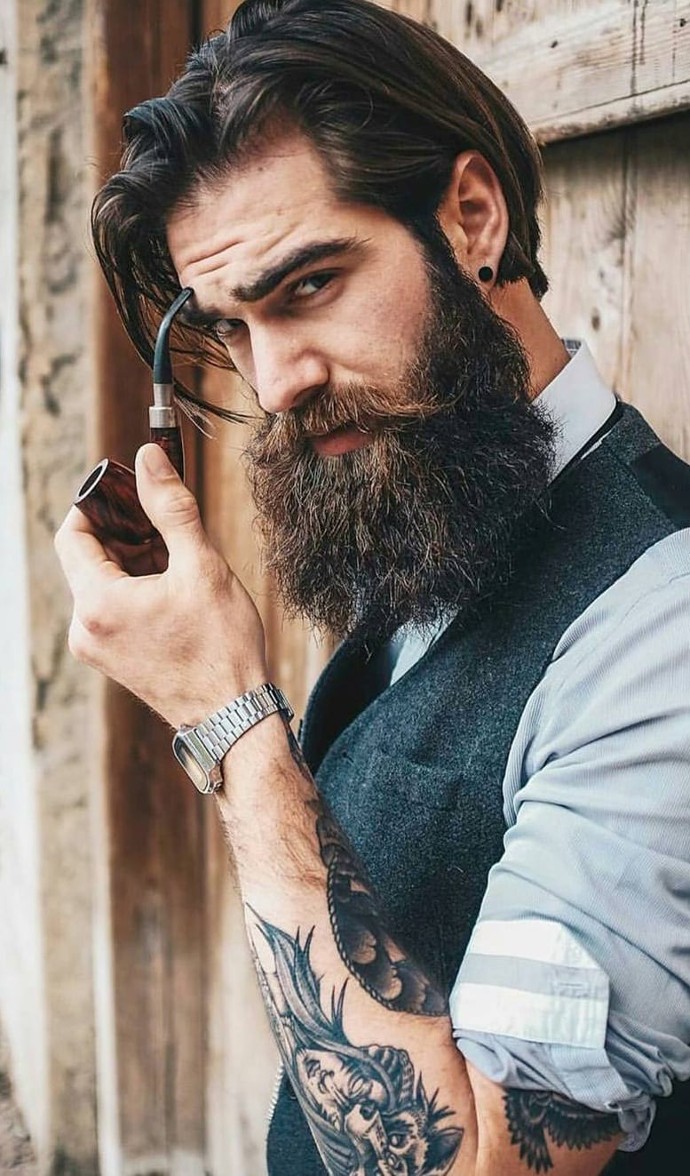 5 Beards To Elevate Your Hipster Look To Another Level.