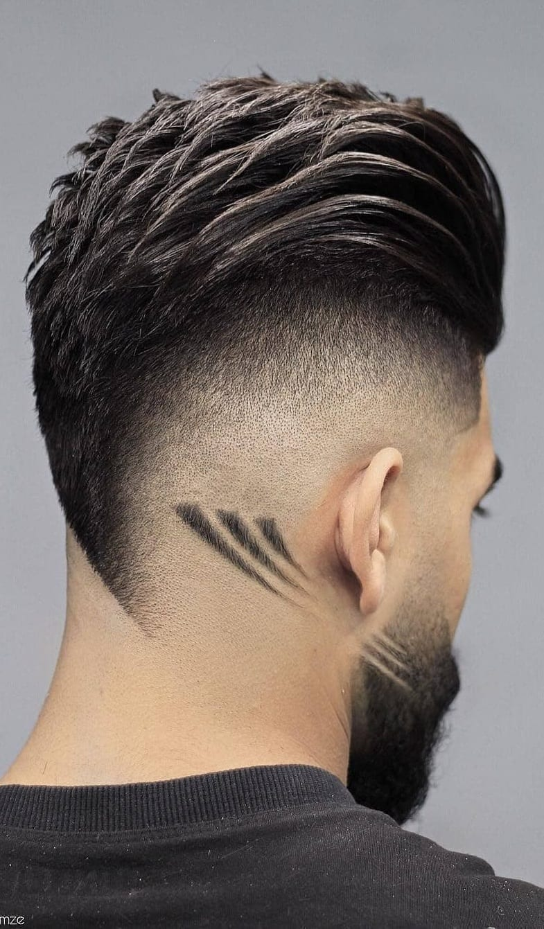 Back Fade Hairstyle Smart & Charming Look