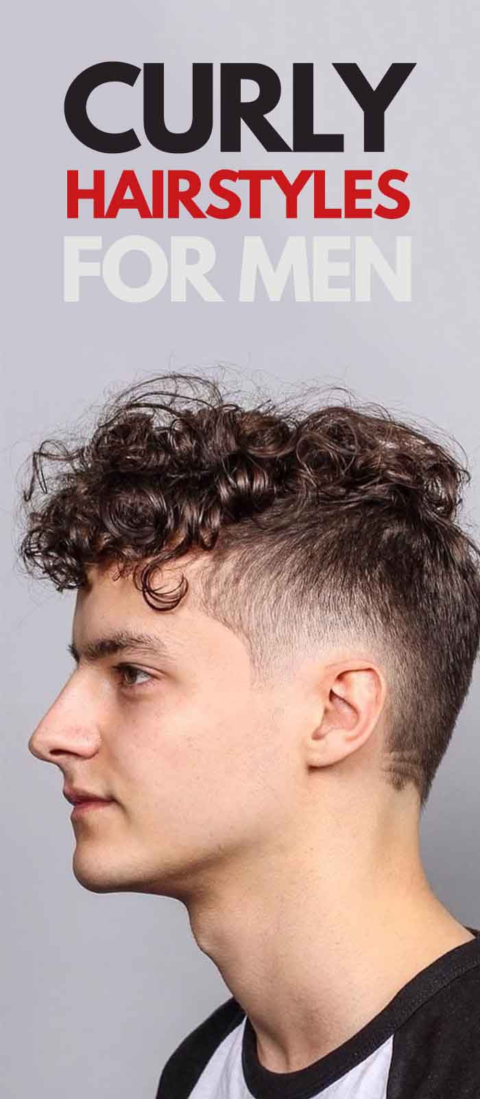 Curly Haircut For Men.