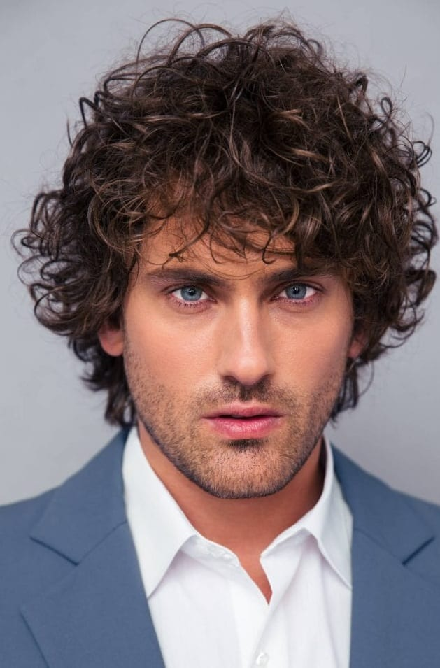 Curly Hairstyle For Men In 2019