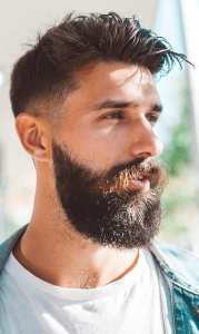Fade Haircut, Beard & Moustache – Combination Guide For Men