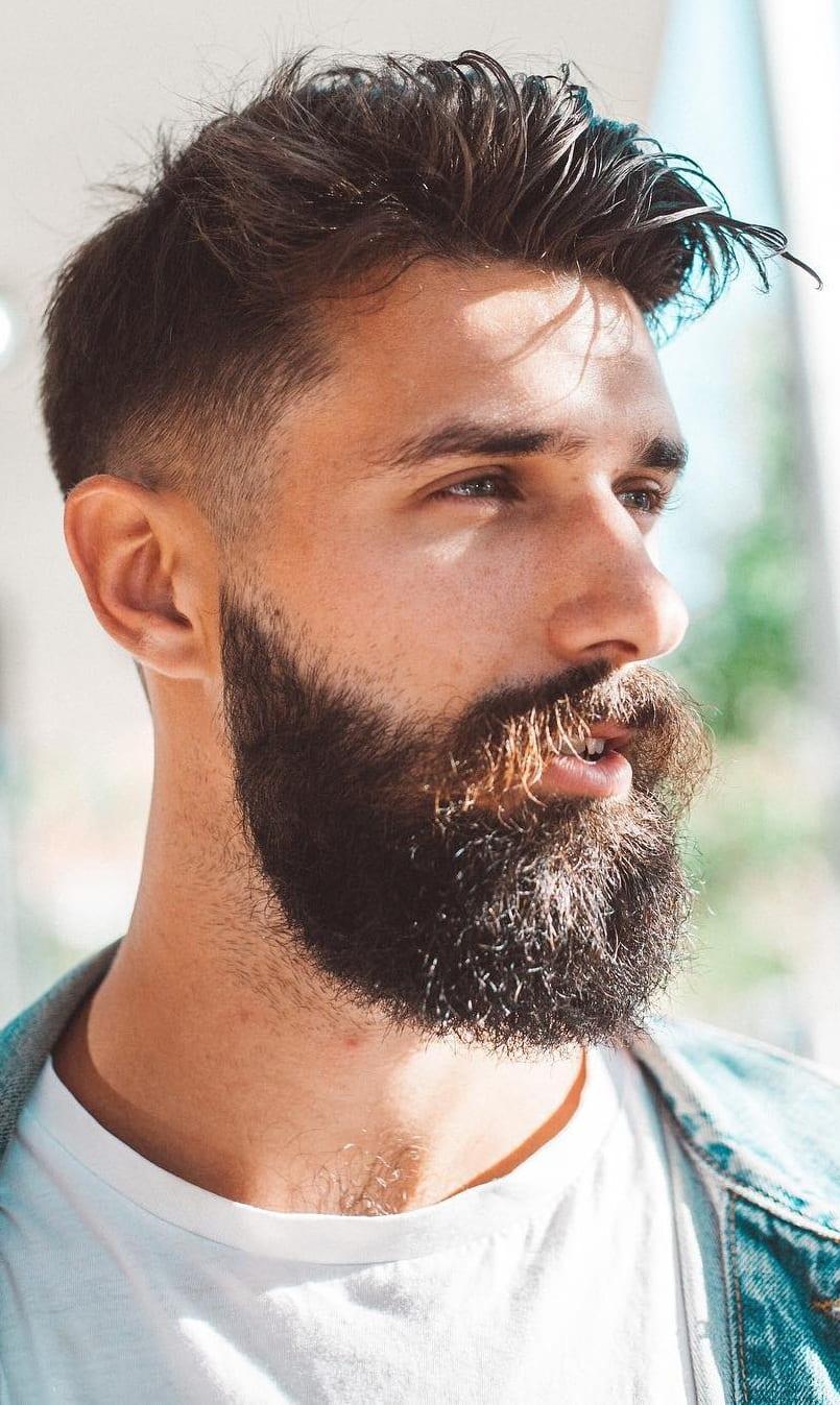 Fade Haircut, Beard & Moustache – Combination Guide For Men