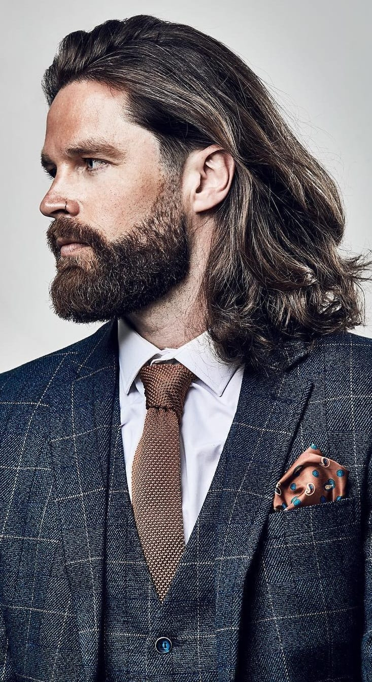 27 Best Long Hairstyles For Men   It gives men a rugged ...