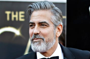 George Clooney Gray Hairstyle Inspiration