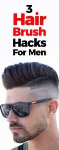 Hair Brush Hacks For Men