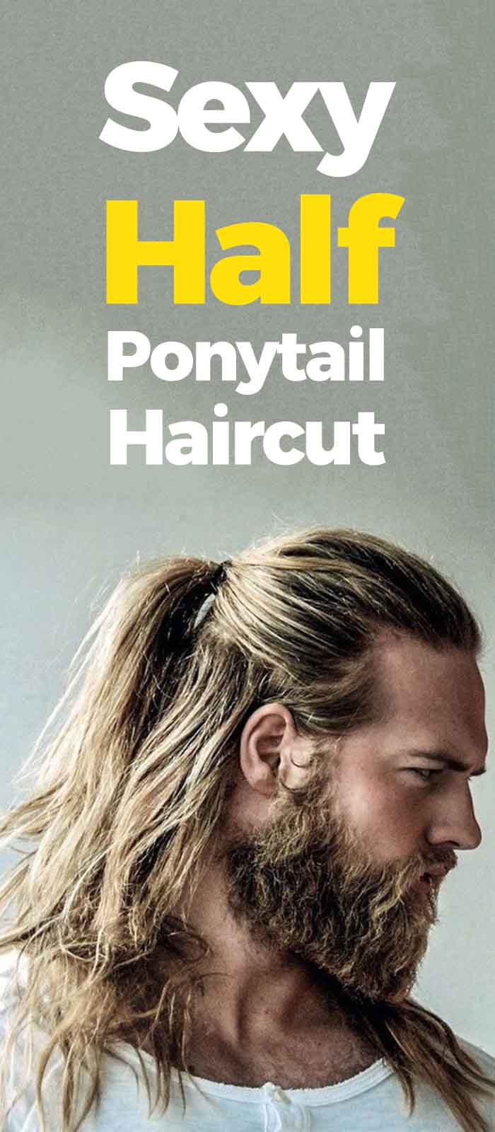 Half Ponytail Haircuts.