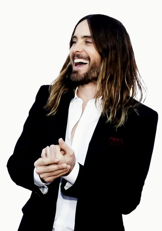 Jared Leto long hair look