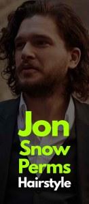 Jon Snow Perms Hairstyles