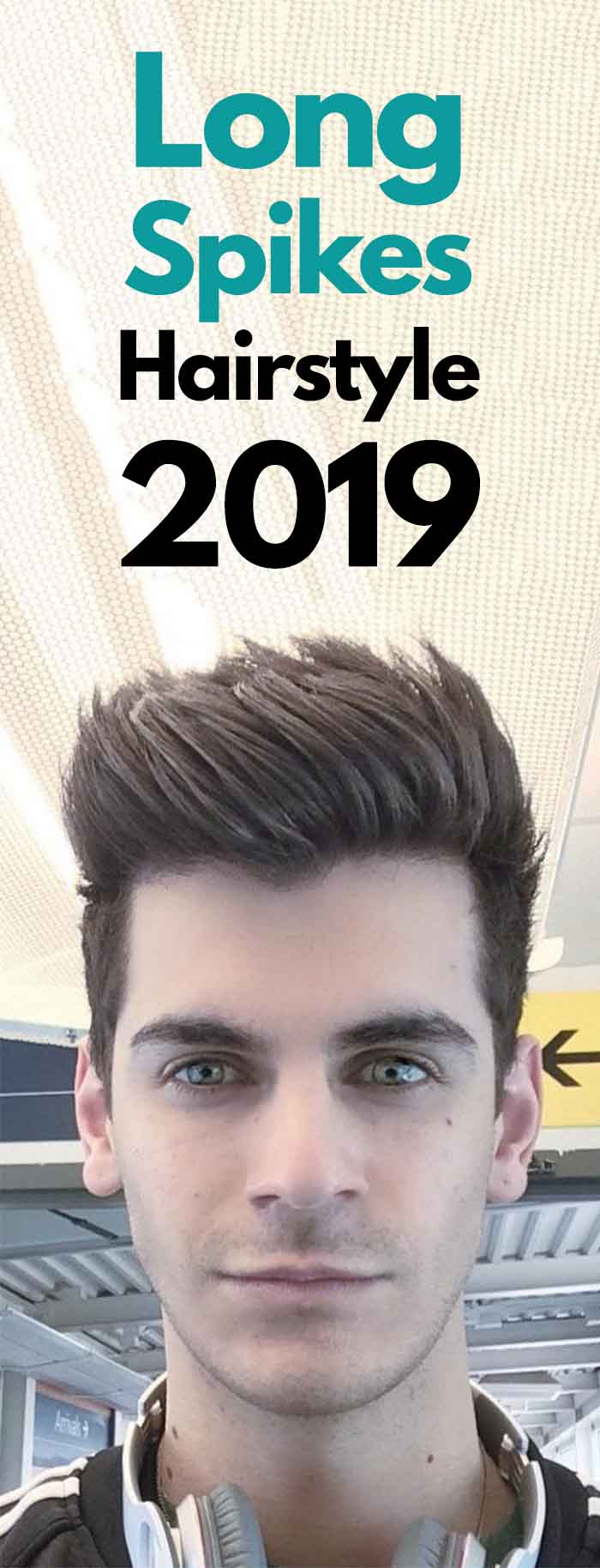 Long Spikes Hairstyle 2019!