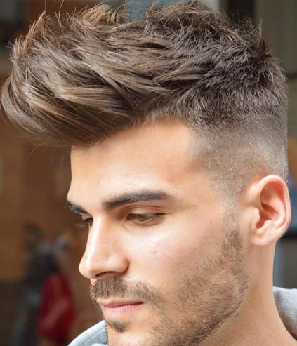 Long Spikes Hairstyle For Men
