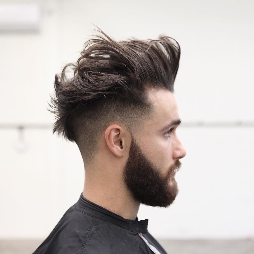 Messy Pomp Low Fade