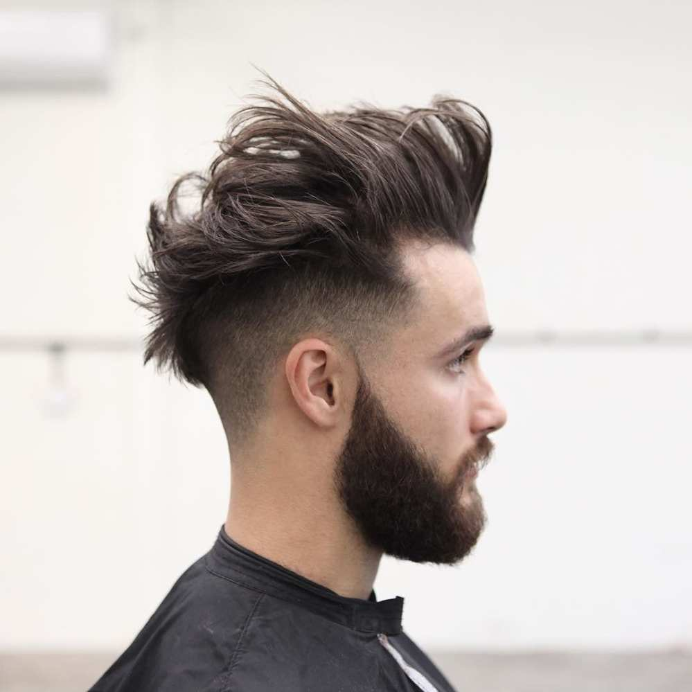 How To Get The Look Mohawk With Undercut Or Fade Mens Hairstyle 2018