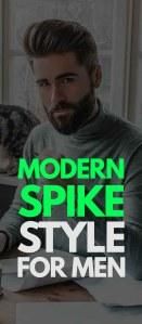 Modern Spike Haircut For Men 2019