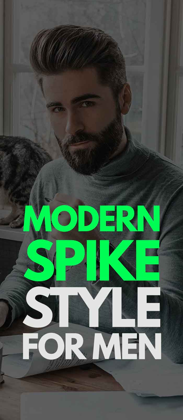Modern Spike Haircut For Men 2019