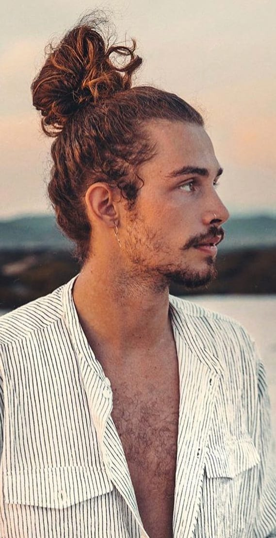 Perfect Ponytail Haircut For Men!