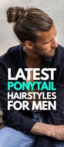 Ponytail Haircurt For Men 2019
