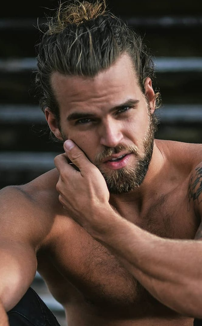 17 Latest Ponytail Hairstyle For Men Men S Hairstyle 2020