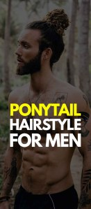 Ponytail Hairstyle For Men 2019