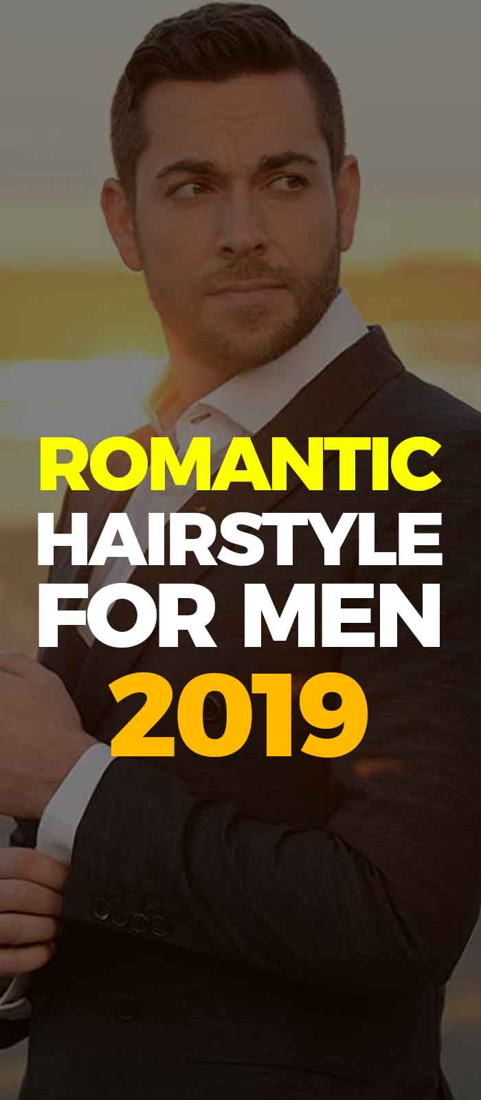 Romantic Hairstyle For Men