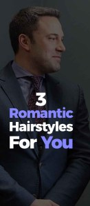 Romantic Hairstyle For Men.