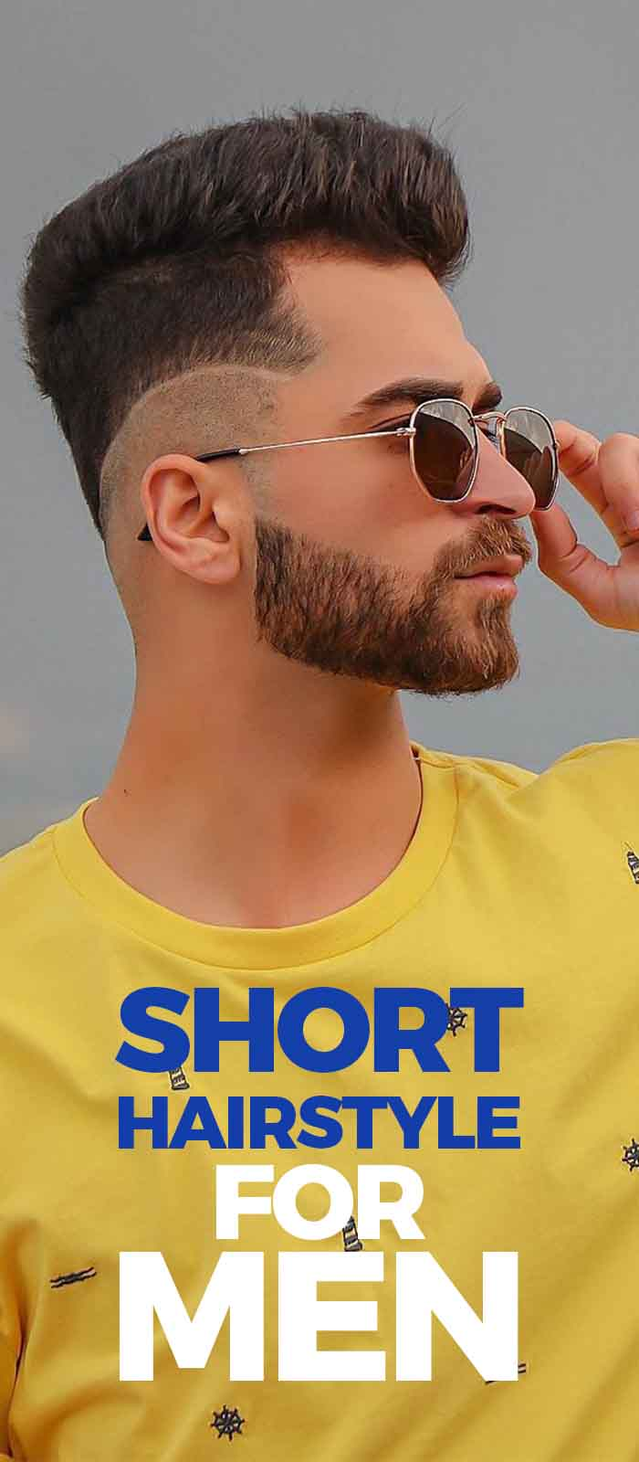 Short Hairstyles For Men 2019!