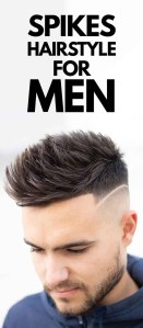 Spikes Hairstyle For Men.