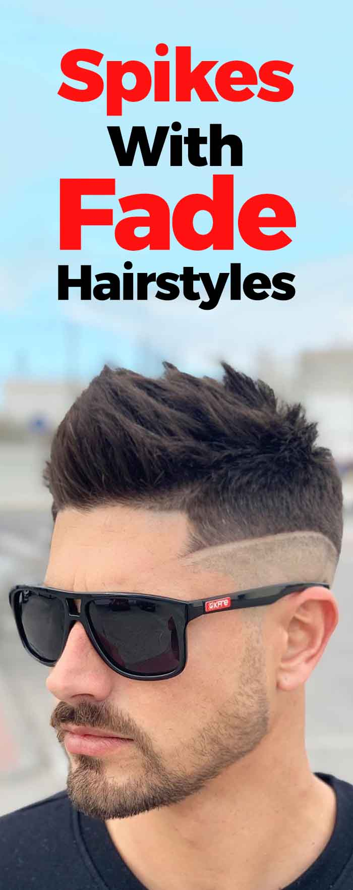 Spikes With Fade Haircut
