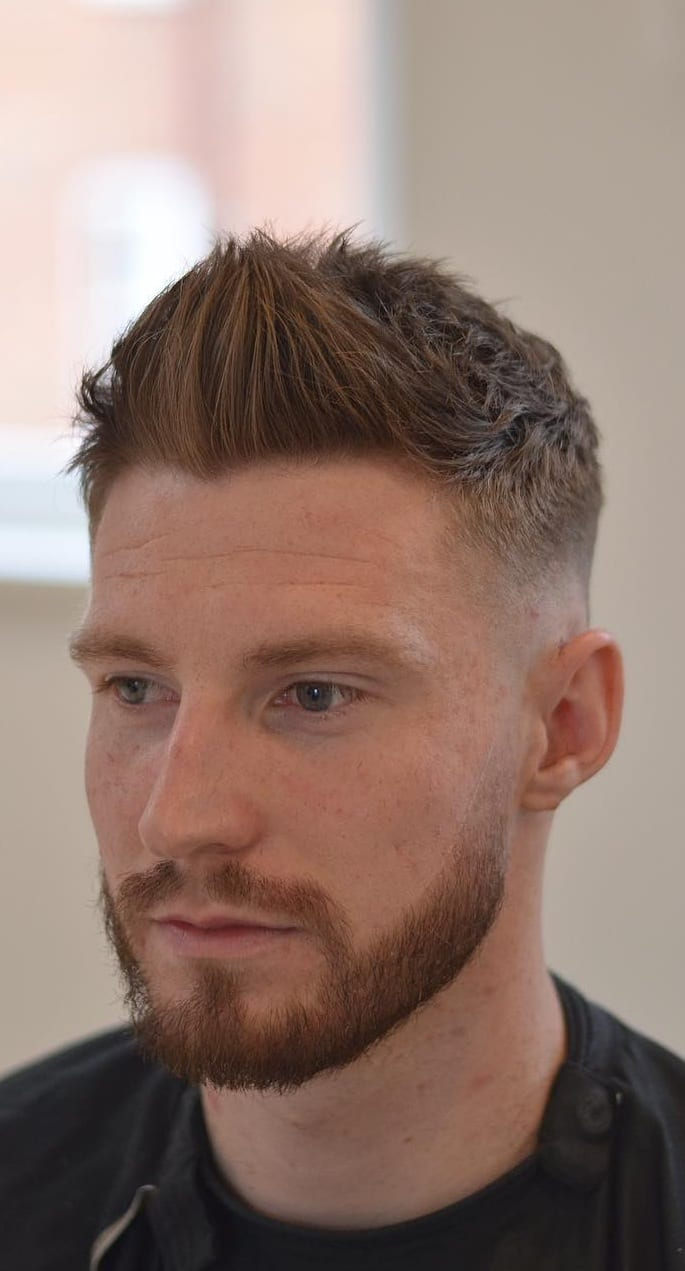 Spikes With Fade Hairstyle For Men In 2019!Spikes With Fade Hairstyle For Men In 2019!