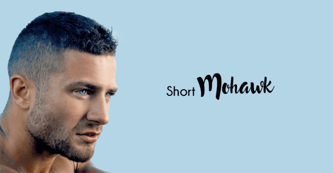 Trendy short mohawk