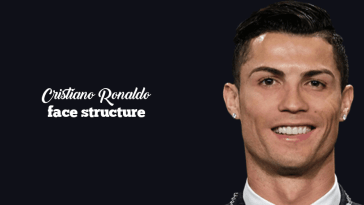 best looks of ronaldo on his face structure