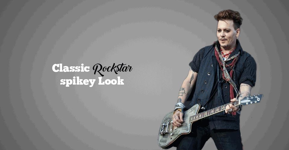 best rockstar Spiky look