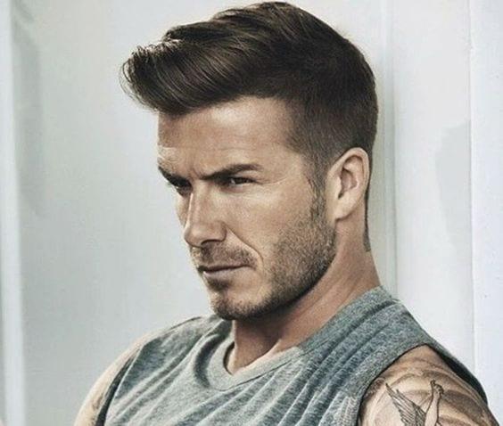 David Beckham Mens Hairstyle 2018