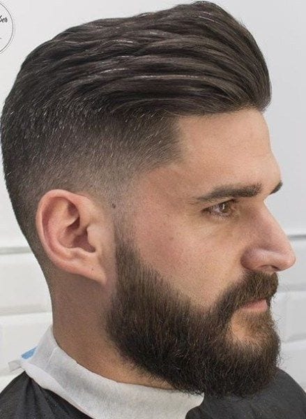 fade-cut-with-beard